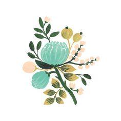 Botanical Robin