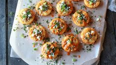 Bisquick - Easy Mini Buffalo Chicken Pies