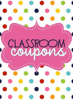 This is a fun and FREE way to reward your students. My students LOVE class coupons. Just print and laminate. Use the cover page for your coupon binder! ***UPDATED: Editable coupons now included. You must have PowerPoint to open the file. When you download, you will get a .zip file with a secured .pdf and a .ppt***