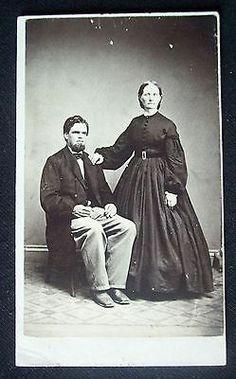 Civil War Era 1860's CDV Photograph Tax Stamp Gowanda New York | eBay