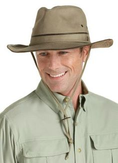 Coolibar Men's Safari Sun Hats UPF50+