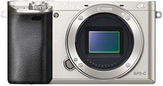 Sony Alpha Interchangeable Lens Camera - Body only (Silver) Test the limits of your creativity with the premium mirror less DSLR that's focused on speed. Cameras Nikon, Sony Camera, Best Digital Camera, Digital Slr, Camera Deals, Sony A6000, Sony E Mount, Cmos Sensor, Zoom Lens