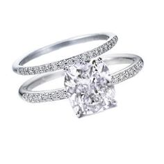 Literally the PERFECT one!!! Cushion cut vintage style engagement ring