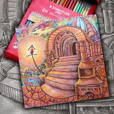 #themagicalcitycolouringbook #lizziemarycullen  Davlin Publishing #adultcoloring