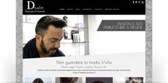 Responsive Web Site and Hairstyle Blog for D Salon.