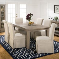7e345ece98d Found it at Joss & Main - Jordan Reclaimed Wood Dining Table Pine Chairs ,