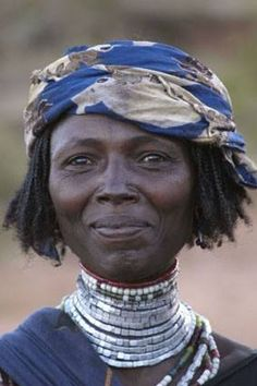 Africa | Borana woman, Ethiopia - Explore the World with Travel Nerd Nici, one Country at a Time. http://TravelNerdNici.com