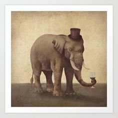 A Fine Vintage  Art Print by Terry Fan - $18.00