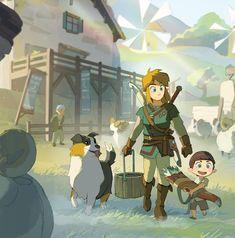 Legend of Zelda Breath of the Wild The Legend Of Zelda, Legend Of Zelda Breath, Zelda Drawing, Image Zelda, Character Art, Character Design, Nerd, Twilight Princess, Princess Zelda