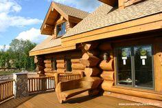 Log Homes - Pioneer Log Homes of BC cabin