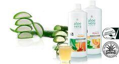 Питьевые гели на основе натурального алое геля 90-98%