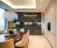 cozinha A Contemporary Apartment in Moscow by Alexei Nikolashin (7)