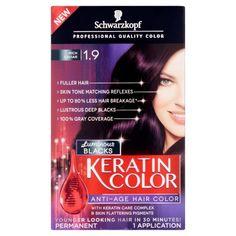 Schwarzkopf Keratin Color Anti-Age Hair Color Kit, Gray