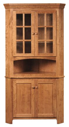 Also Available In Oak Quarter Sawn White Rustic Cherry And Brown Corner HutchCarlisleWhite OakAmishCherriesHouseholdDining RoomsWoodworking