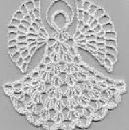 Crochet angels are so popular! Use these free angel crochet patterns to create crochet ornaments, figurines and more. Angel Crochet Pattern Free, Crochet Angels, Crochet Motif, Diy Crochet, Crochet Designs, Crochet Crafts, Crochet Doilies, Crochet Projects, Crochet Patterns