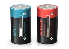 Salt and Pepper Batteries by Fred and Friends