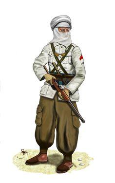 WW2 - 1940 Egypt - Libyan Meharist by AndreaSilva60 on DeviantArt