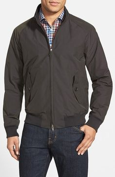 BARACUTA 'G9' Water Repellent Harrington Jacket available at #Nordstrom