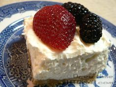 Cheesecake is delicious but can be really heavy. This version gives you the same taste with a lighter texture. And it's no-bake so it won't heat up the kitchen.