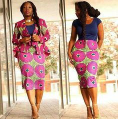 African top and matching skirt African blouse by TrueFond on Etsy  ~DKK ~African fashion, Ankara, kitenge, African women dresses, African prints, African men's fashion, Nigerian style, Ghanaian fashion.