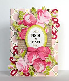 Hello friends. Today I'm sharing some cards I created with Anna Griffin's Favorite Flowers. I loved this set because the colors were more p...