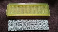 Marvelous Molds Ribbed Knit Border Silicone Mold