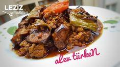 Delicious chopped aubergine Moussaka - World Cuisine Turkish Recipes, Italian Recipes, Ethnic Recipes, Eggplant Moussaka, Ramen, Musaka, Fish And Meat, Turkish Kitchen, Restaurant