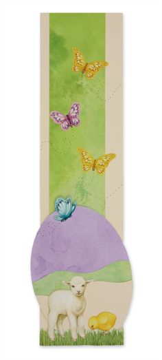 #Scrapbooking Easter - dreamy little border.