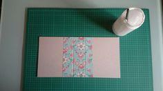 1.Cortar el cartón para hacer las tapas