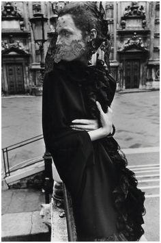 Mirella Petteni photographed by Helmut Newton in Venice, 1966