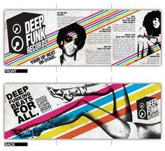 Deep Funk Records Brochure Design