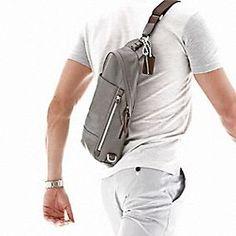 Coach sling for men, I think perhaps better for women . . .