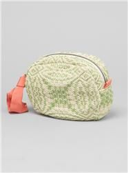 Couverture and The Garbstore - Womens - Maria La Rosa - Isa Bag In Handwoven Alfiere Fabric