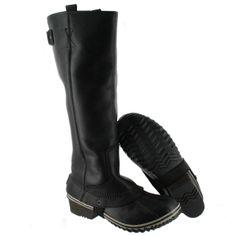 Sorel Women's SLIMPACK RIDING TALL blk waterproof boots 1517851-010