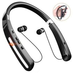 Take a look at the latest Bluetooth Neckband Headphones that have proven to be the best in the market, with quality sound and convenience. Best Bluetooth Headphones, Best Earbuds, In Ear Headphones, Neckband Headphones, Headset, Iphone, Audio, Tech, Running