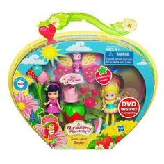 Amazon.com: Strawberry Shortcake ** Sun Lovin Garden ** Meet Cherry Jam // Lemon Meringue ** Includes Dvd: Toys & Games