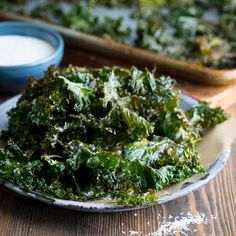 These crispy and nutritious kale chips from cabot creamery offer a healthy snack or appetizer option when dipped in their simple, flavorful greek yogurt Healthy Bedtime Snacks, Healthy Protein Snacks, Healthy Breakfast Smoothies, Healthy Shakes, No Calorie Snacks, Healthy Breakfasts, High Protein, Healthy Appetizers Dips, Appetizer Dips