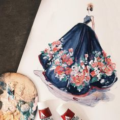 12 fashion illustrators whose Instagram feeds are worth following: