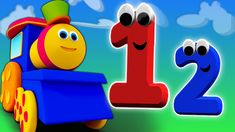 Bob Nombre Train | Train pour les enfants | apprendre les chiffres | Kid... French Numbers, Kids Learning, Kindergarten Learning, Nursery Rhymes, 1st Birthday Parties, Musicals, Trains, Youtube, Toddlers