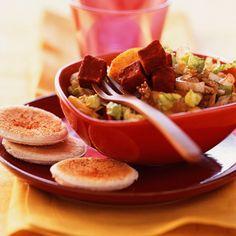 Découvrez la recette de la salade d'endives aux petits chèvres