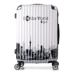 NEW Graffiti Luggage,Vintage Universal wheels Carry-Ons,Rolling Trolley Box,ABS shell Suitcase,Strong Hard Case Travel Bag