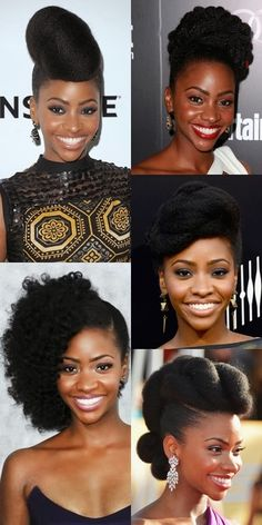 My hair crush for this month is the beautiful    Teyonah Parris       known for her role as Dawn Chambers on the american tv show Mad Men...