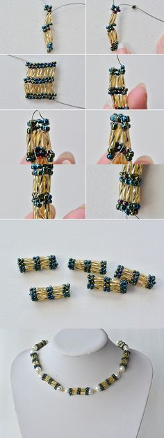 Necklace making with bulge beads, LC.Pandahall.com will share us the tutorial soon. Pay attention! #pandahall