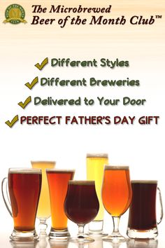 A Father's Day gift that keeps on giving. Discover the world's best beers, without traveling the globe to find them. Beer Of The Month, Beer Club, Beer Gifts, Beer Lovers, Fine Wine, Craft Beer, Brewery, Fathers Day Gifts, Globe