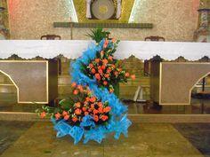 Cắm hoa giáo xứ Phương Lâm
