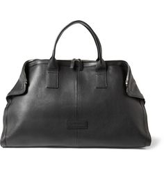 Alexander McQueen De Manta Leather Holdall Bag | MR PORTER