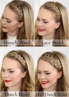 4 peinados con trenzas de pelo