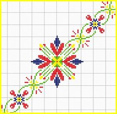 <3 Embroidery Applique, Beaded Embroidery, Cross Stitch Embroidery, Embroidery Patterns, Knitting Patterns, Cross Stitch Borders, Cross Stitching, Cross Stitch Patterns, Halloween Cross Stitches