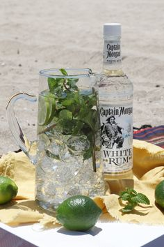 Mojito - fresh mint, lime juice, and rum. One of my faves!