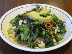 Kale Soba Noodle Bowl with Ginger-Lime Dressing